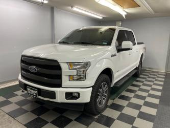2017 Ford F-150 Lariat FX4 SuperCrew 4X4 EcoBoost Loaded Extra Clean!!