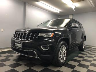 2015 Jeep Grand Cherokee Limited Leather Nav Sunroof Loaded!!!
