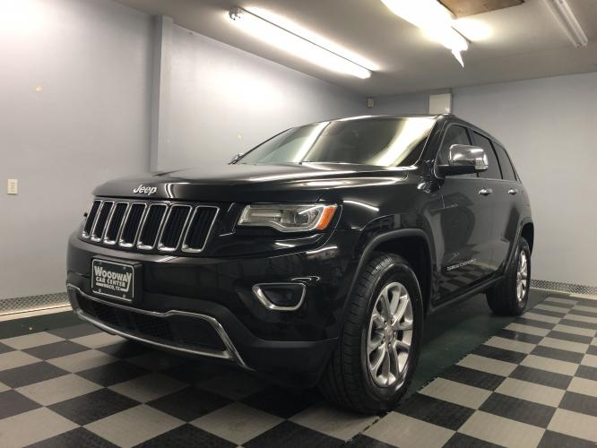 2015 Black Metallic /Tan Leather Jeep Grand Cherokee Limited (1C4RJEBG8FC) with an 3.6L V6 DOHC 24V engine, Automatic transmission, located at 9900 Woodway Drive, Woodway, TX, 76712, (254) 751-1444, 31.493961, -97.228523 - Photo #0