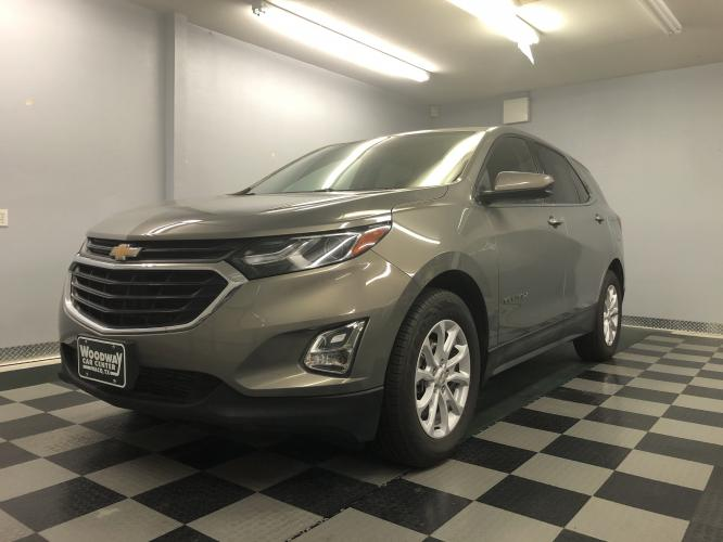 2018 Pepperdust Metallic /Gray Cloth Chevrolet Equinox LT 2WD (3GNAXJEV5JS) with an 1.5L L4 DIR DOHC 16V TURBO engine, Automatic transmission, located at 9900 Woodway Drive, Woodway, TX, 76712, (254) 751-1444, 31.493961, -97.228523 - Photo #0