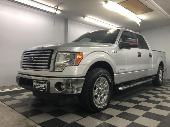 2012 Silver /Gray Cloth Ford F-150 XLT SuperCrew (1FTFW1CT9CK) with an 3.5L V6 TURBO engine, 6-Speed Automatic transmission, located at 9900 Woodway Drive, Woodway, TX, 76712, (254) 751-1444, 31.493961, -97.228523 - Photo #0