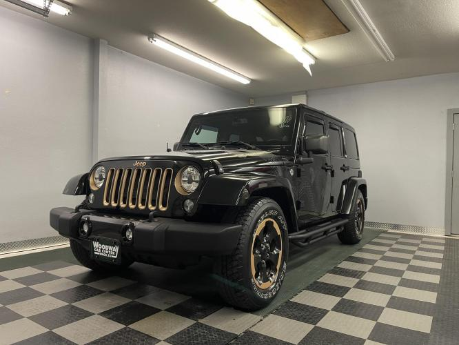 2014 Jeep Wrangler Unlimited Sahara 4WD Dragon Edition Extra Rare!!!