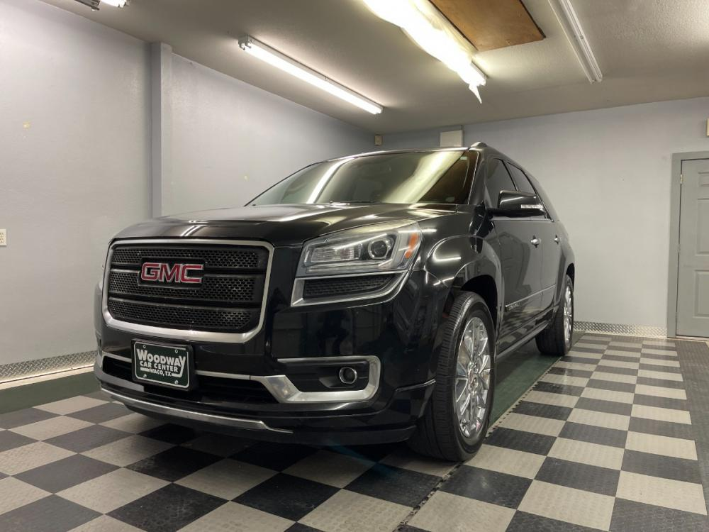 2014 Grey Metallic /Black Leather GMC Acadia Denali (1GKKRTKDXEJ) with an 3.6L V6 DOHC 24V engine, Automatic transmission, located at 9900 Woodway Drive, Woodway, TX, 76712, (254) 751-1444, 31.493961, -97.228523 - Photo #0